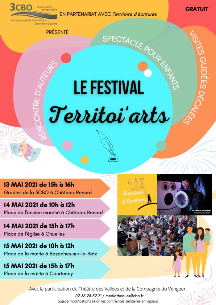 AFFICHE TERRITOI'ARTS