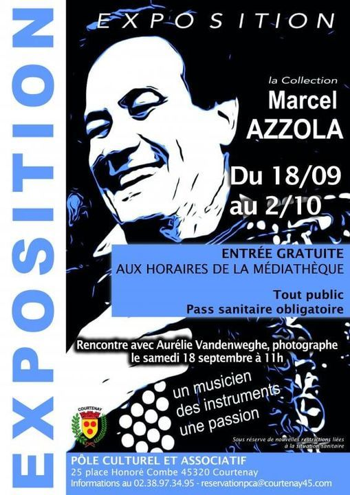 EXPOSITION MARCEL AZZOLA