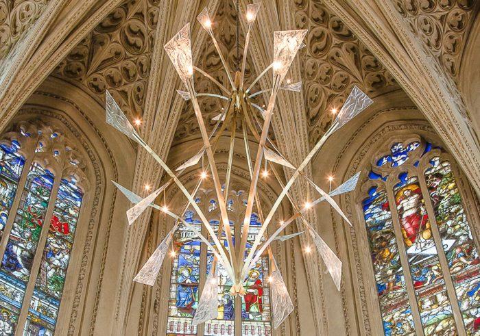 Luminaires Sainte Chapelle du château des ducs de Savoie – ©Natacha MONDON et Eric PIERRE