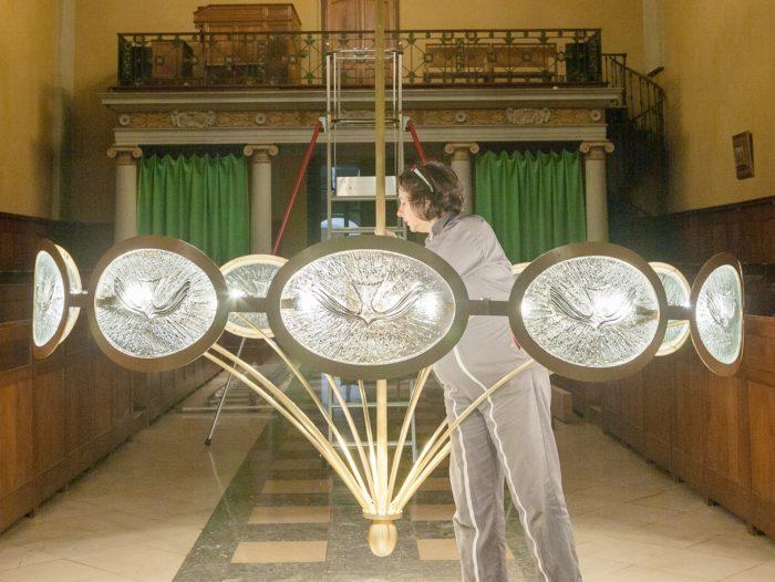 Luminaires chapelle séminaire St-Cyprien – ©Natacha MONDON et Eric PIERRE