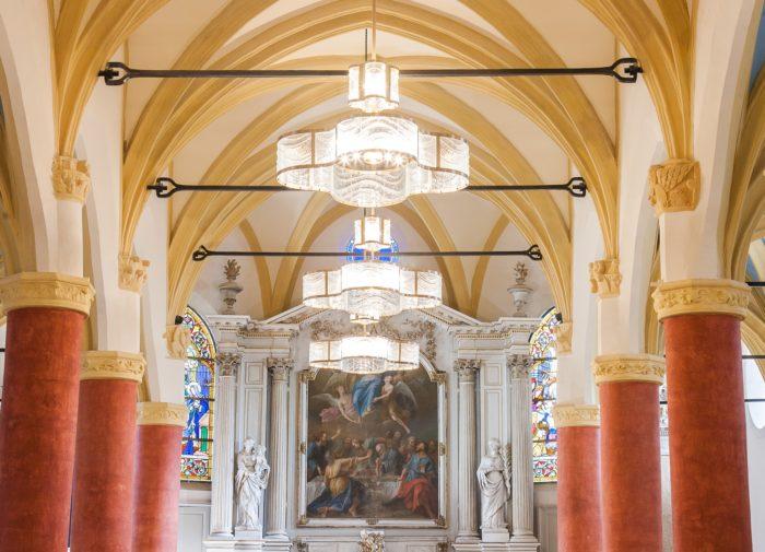 Luminaires église ND Assomption – ©Natacha MONDON et Eric PIERRE