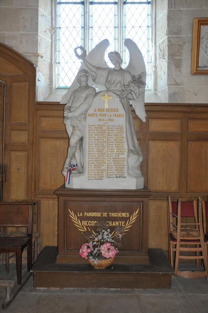 eglise st martin monument aux morts 1914 1918
