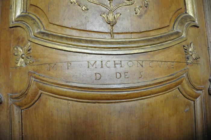 eglise st pierre et st paul details sur la chaire a precher