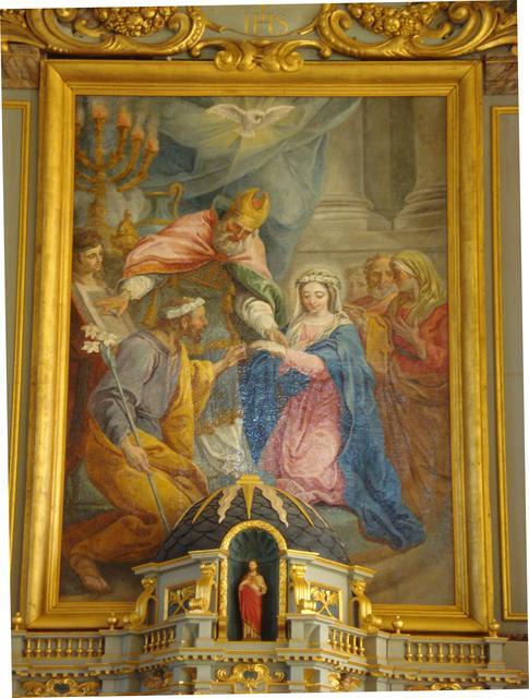 eglise st pierre et st paul mariage de la vierge details