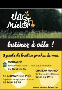 Point de location – Vélo Mielo à Château-Renard